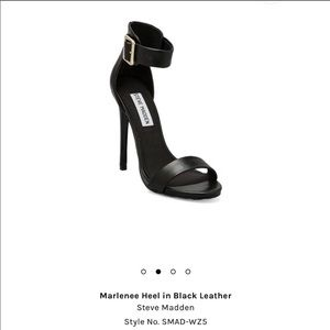 Steve Madden Marlenee stiletto ankle strap heel
